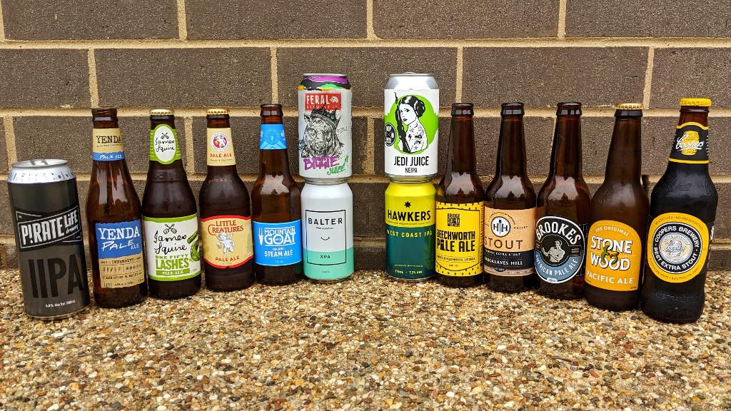 Indie beer and non-indie beer