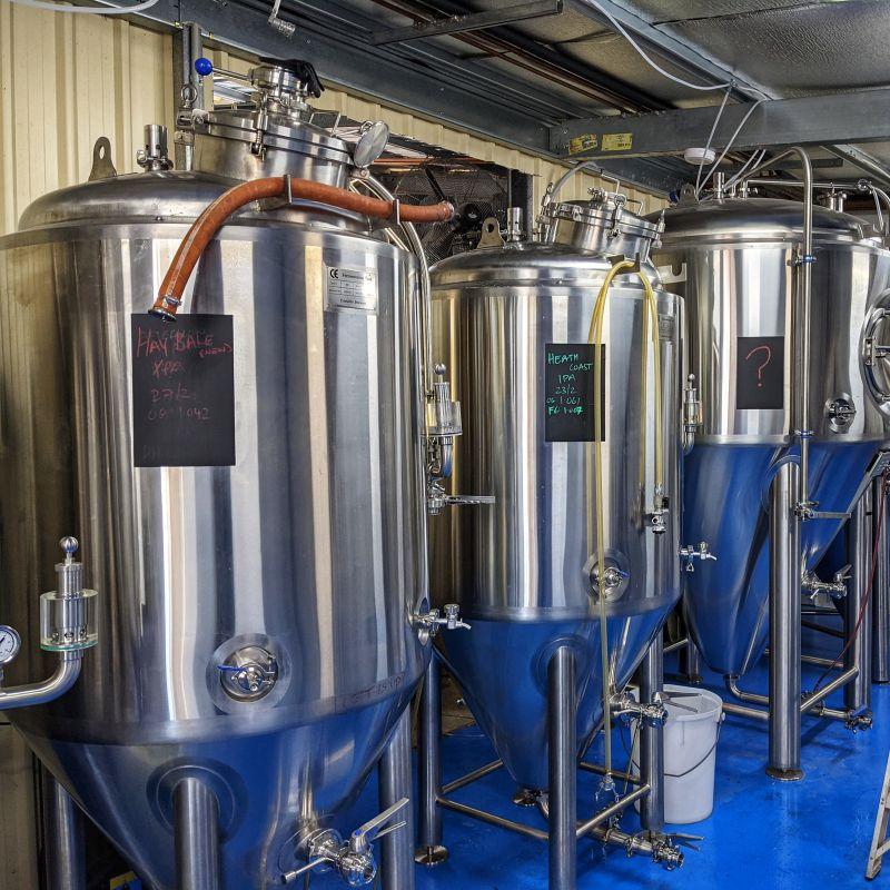 Cornella Brewery Fermenters