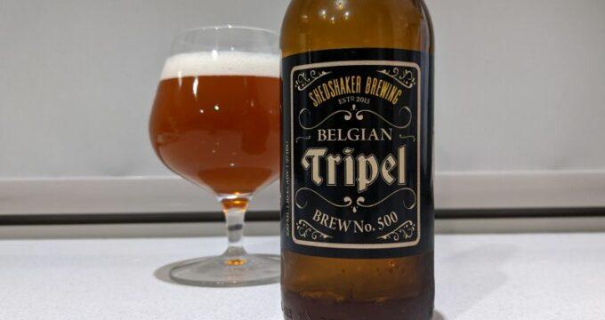 Shedshaker Brewing Belgian Tripel